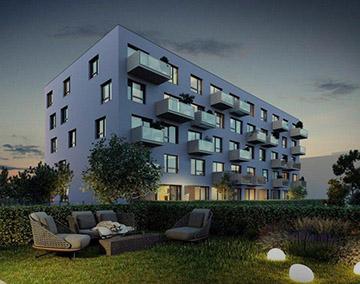 Квартира в Праге 9<br> 41m²